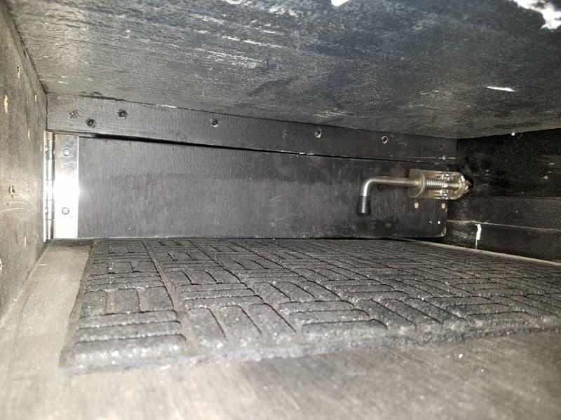 Hidden Storage Drawer Inside