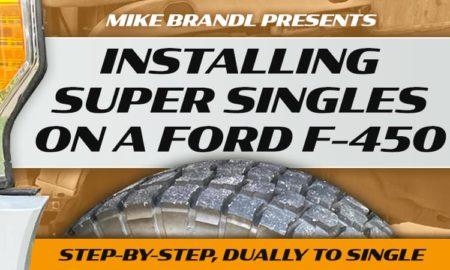 Super Single Installation Ford F450