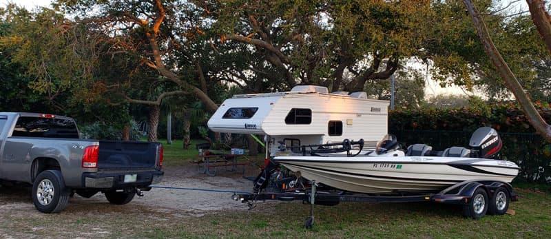 Jetty Park Boating Lance Camper