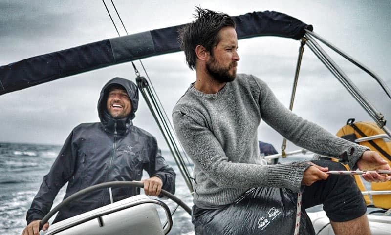 Justin Chatwin Boating