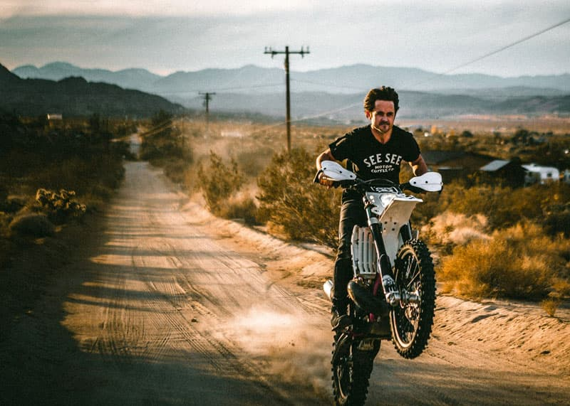 Justin Chatwin Motorcycle