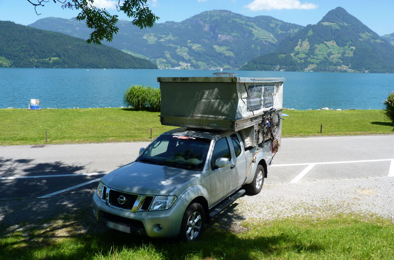 Lake Of The Four Cantons Near Lucerne Switzerland