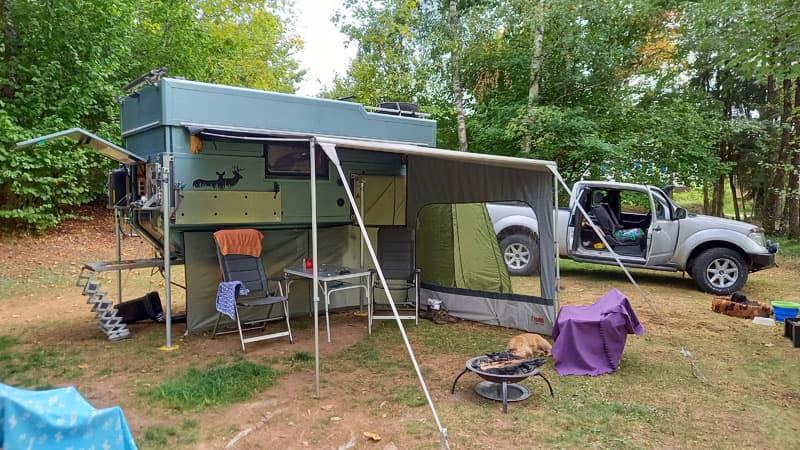 Mobivak Tent Awning