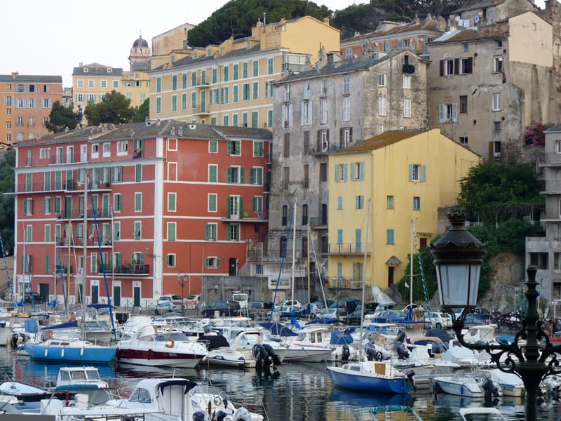 Old Port Of Bastia Corsica