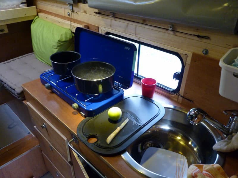 Oufticamper Camper Kitchen