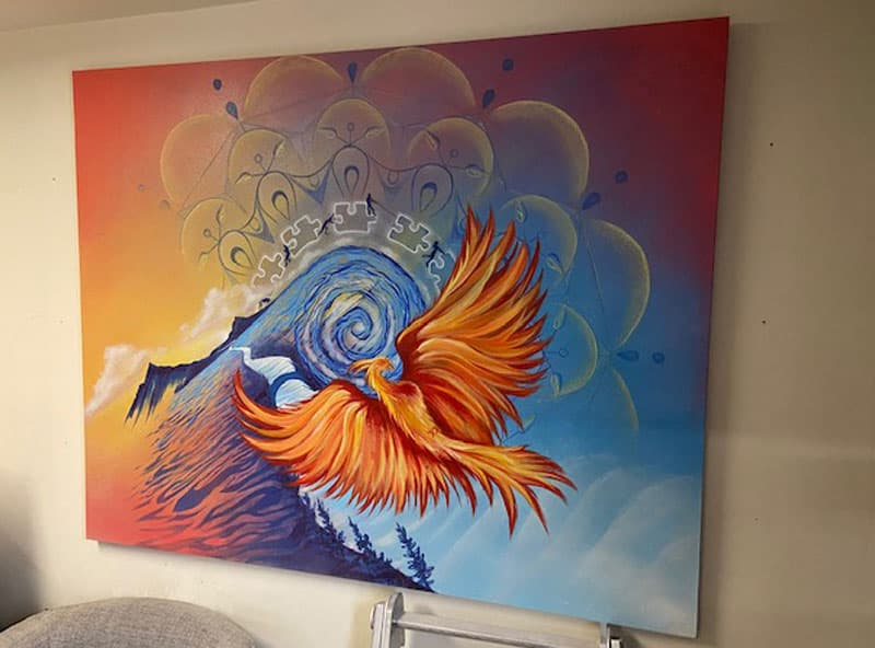Phoenix Painting