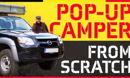 Pop Up Camper From Scratch
