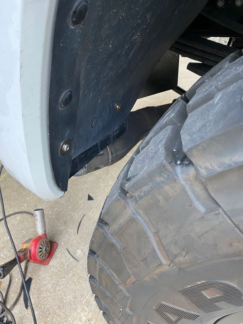 Reattach Stock Liner Extended With Rubber