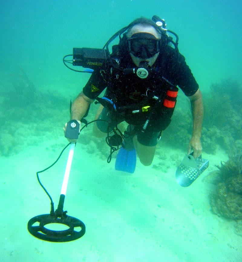 Scuba Diving And Metal Detecting FL Keys