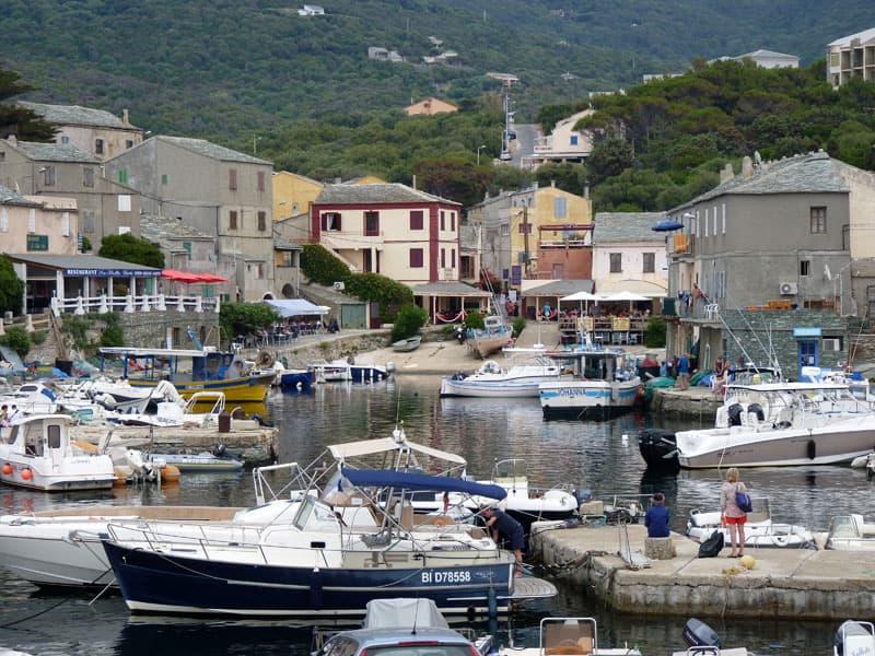 Small Port Of Centuri In Cap Corse, Corsica