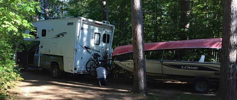 Starrett Lake, Wisconsin
