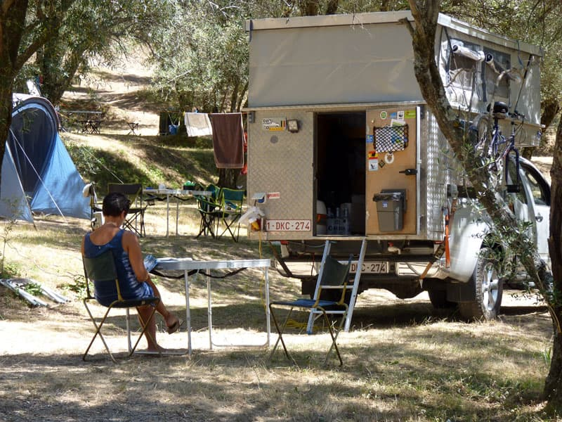 Staying In An RV Park