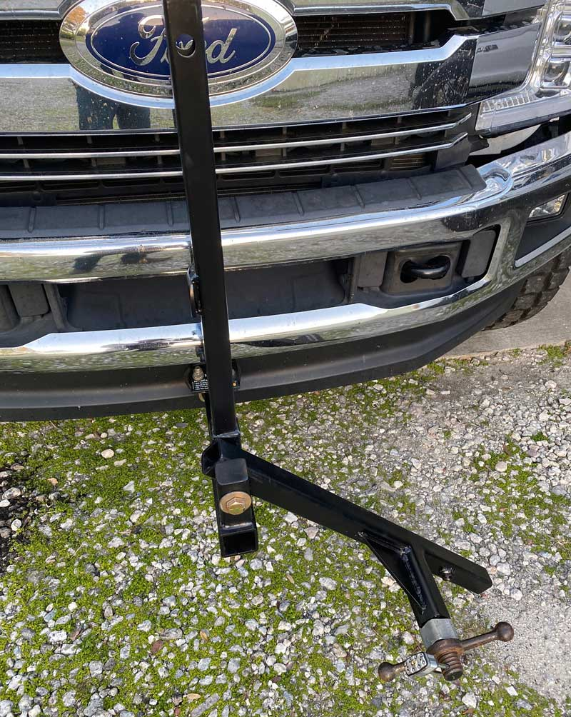 Swing Out Tire Mount For Spare