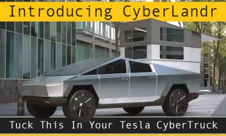 Tesla CyberTruck CyberLandr Camper