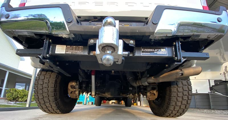 Torklift SuperHitch On Ford F450