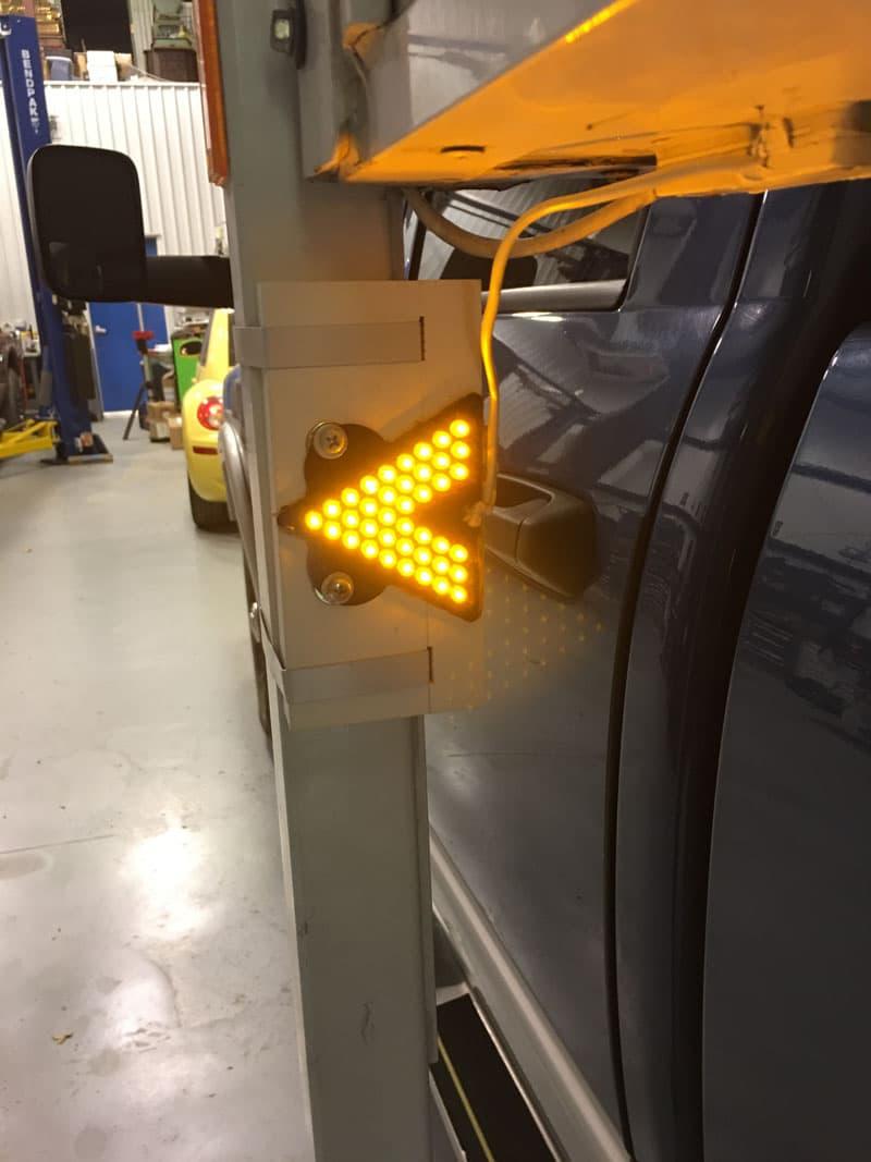 Turn Signal Arrow Jacks Lights On