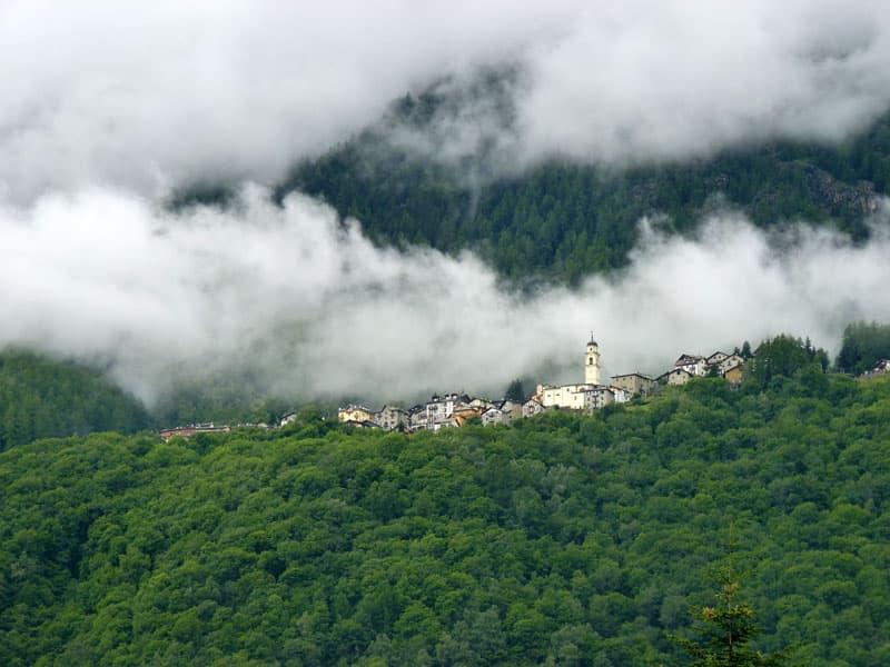 Village Of Primolo Valmalenco Italy