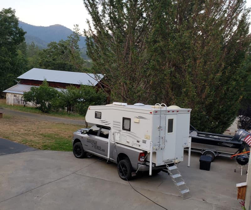 Parked In Grants Pass Oregon