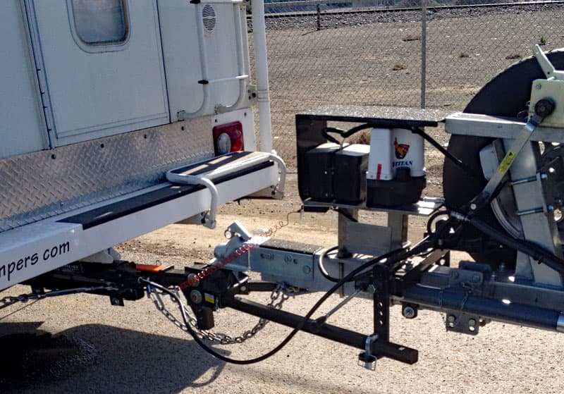 Weight Distribution System Boat Trailer