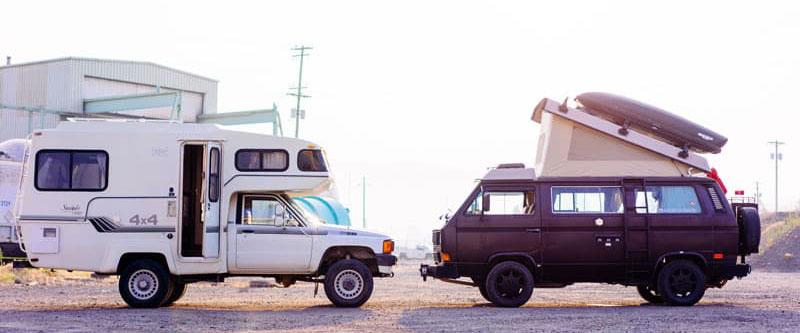 1985 Toyota Sunrader Versus VW Vanagon