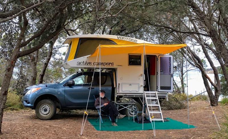 Active Camper Vantage Camping Tasmania