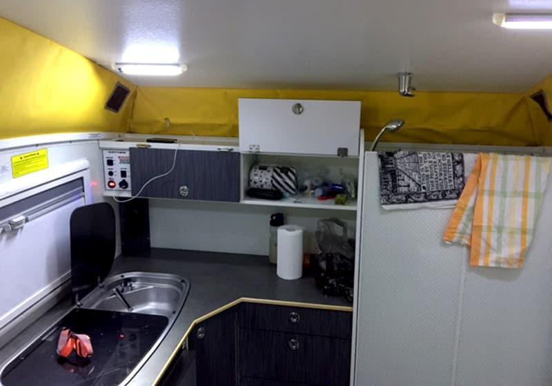 Active Camper Vantage Kitchen Bath