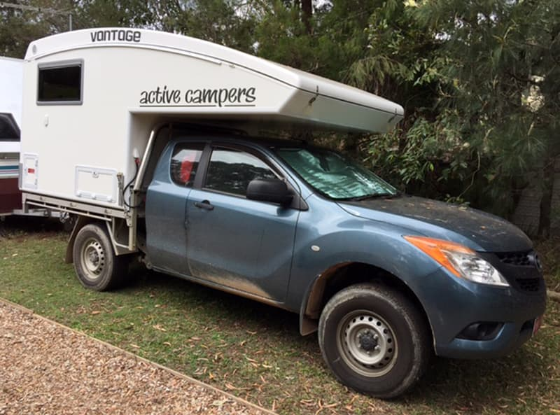 Active Camper Vantage Popped Down