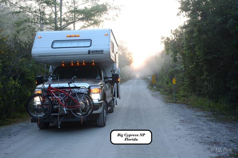 Big Cypress National Preserve Bike Rack