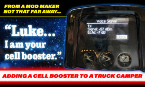 Add a cell booster to your rv