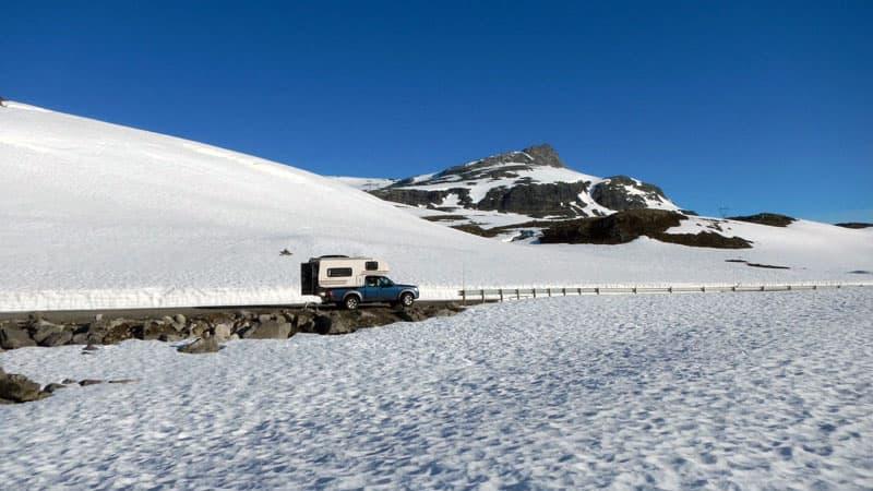 Camper In Norway