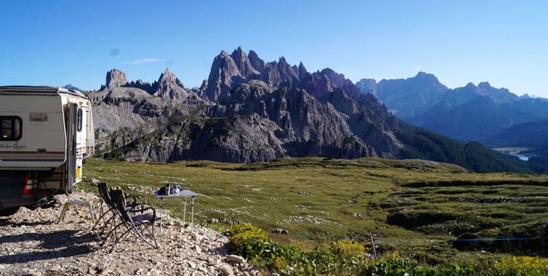 Camping In Italy Dolomites