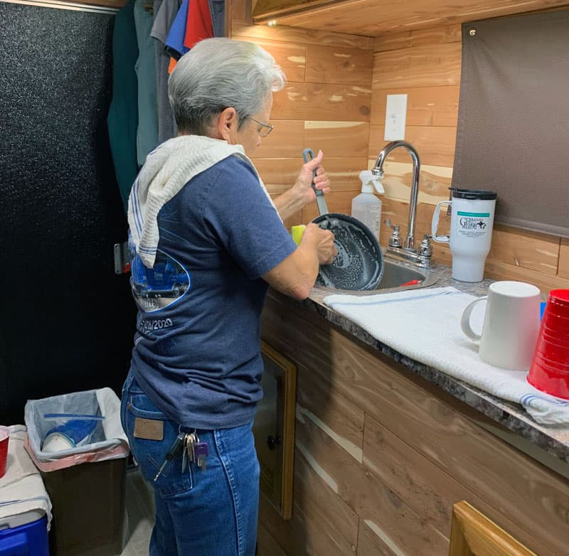 Capri Camper Compact Kitchen