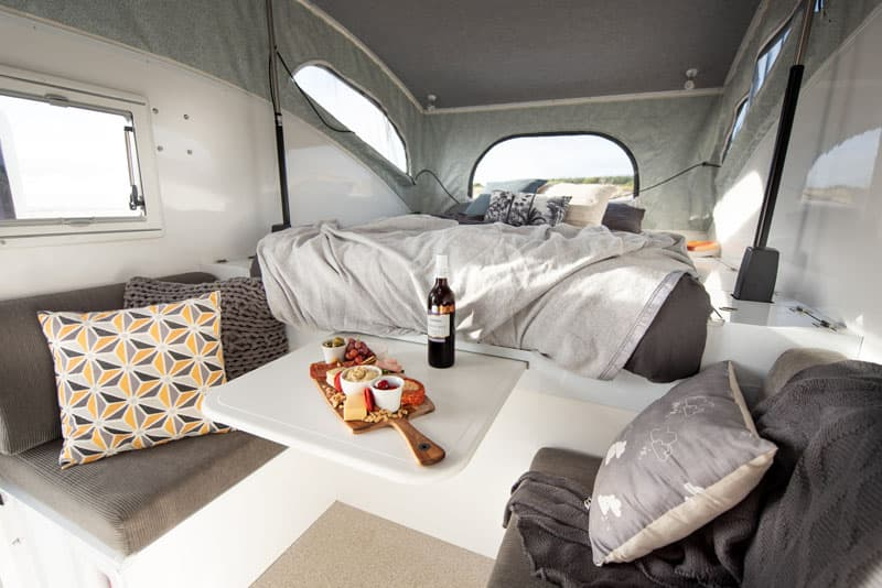 Islander Campers Inside