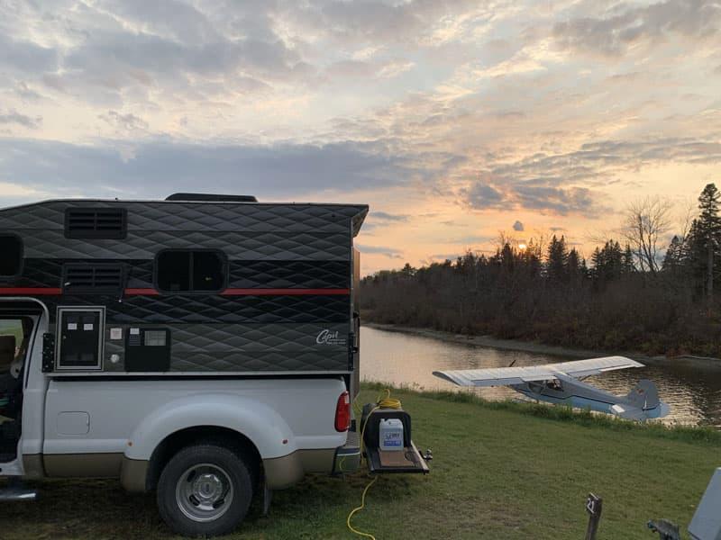 Jackman Maine campground