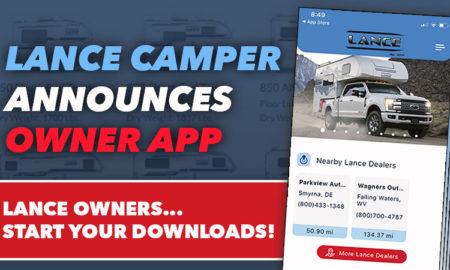 Lance Camper Owner App