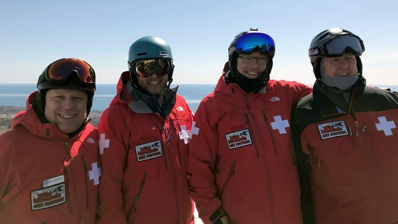 National Ski Patrol Volunteers