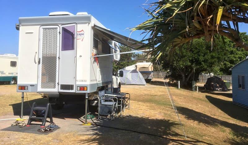 Ozcape Optima Campground