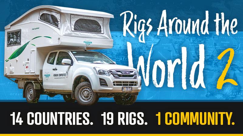 Truck Camper Rigs Around The World 2