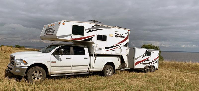 Russia Camping Wolf Creek