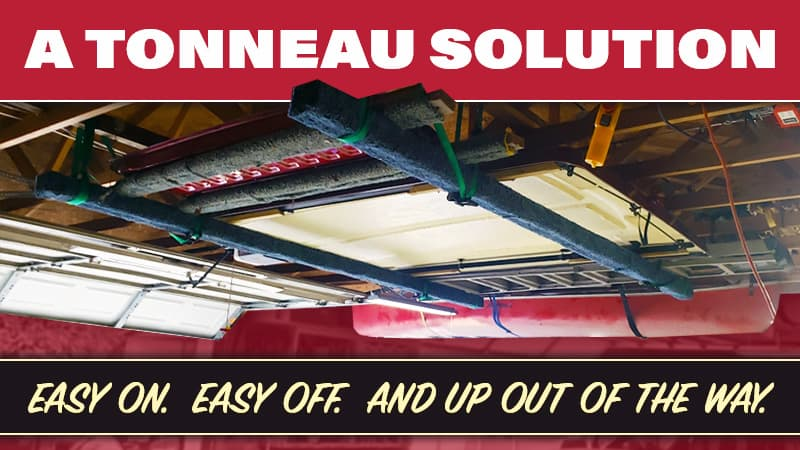 Tonneau Solution For Loading Unloading