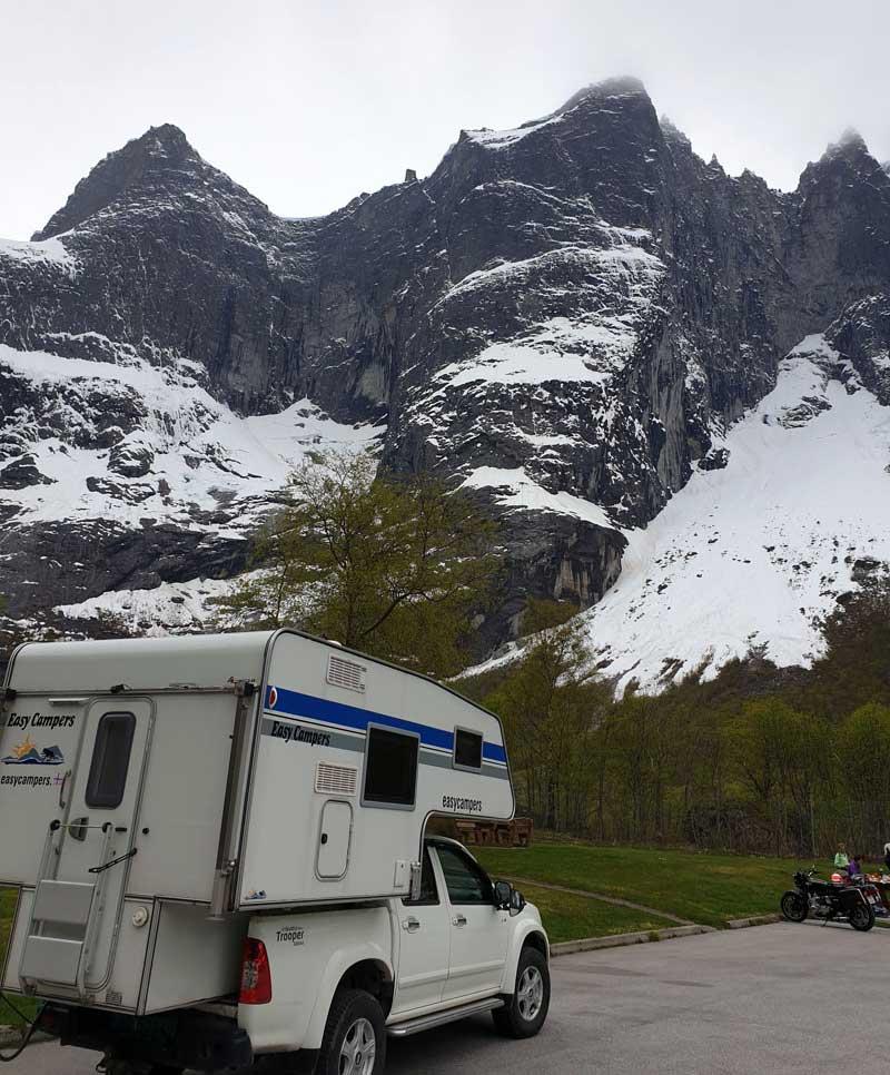 Trollveggen Romsdal, Norway