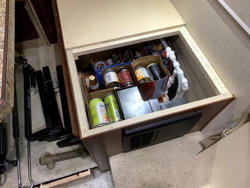 Under Seat Storage 10