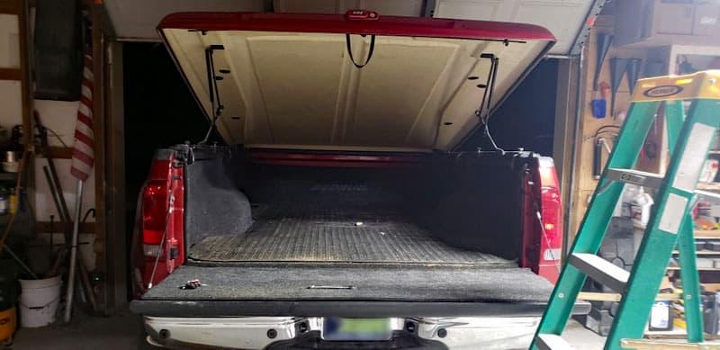 Tonneau Cover On Truck