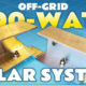 800 watt camper solar system