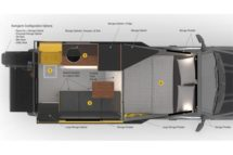 Loki Basecamp Falcon 8 Floorplan for the Truck Camper Buyers Guide