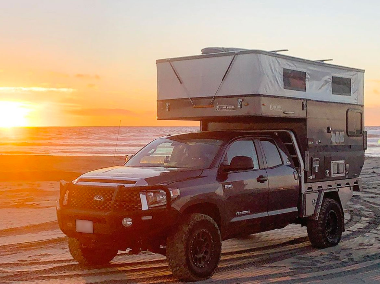 Baja Surf Spot And Camping Spot
