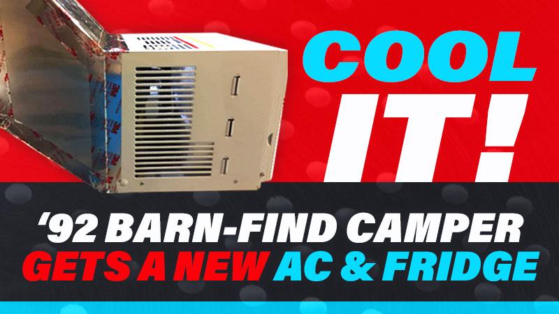 Mega Mod AC and Fridge
