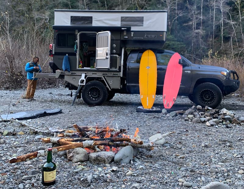 Campfire Four Wheel Camper
