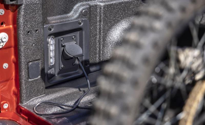 Ford Maverick 110volt Plug