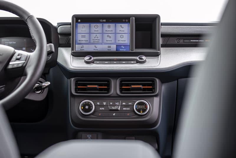 Ford Maverick XLT Screen